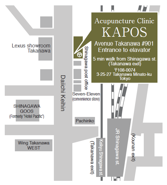 Map of KAPOS